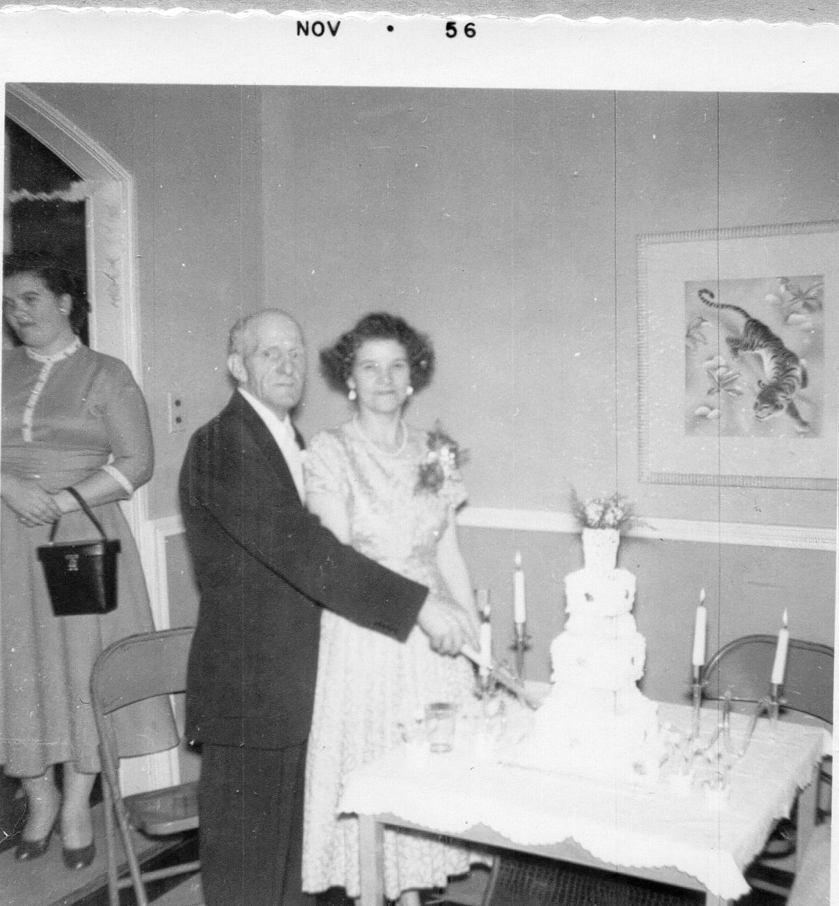 Edith & Willie Hill 1956